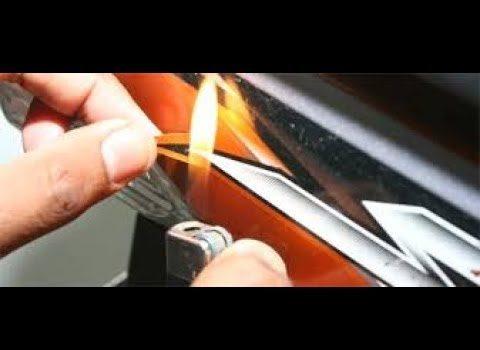 Cara Melepas Stiker Motor Tanpa Bekas