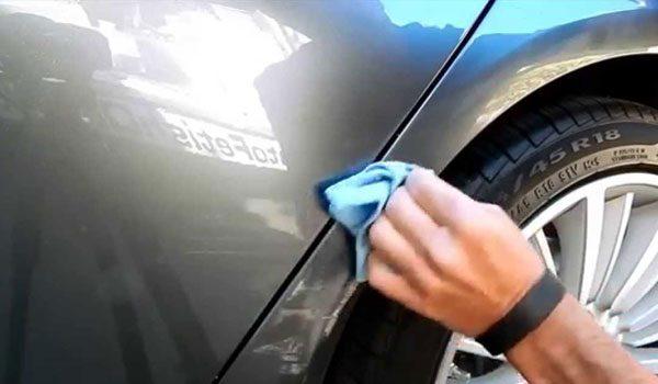Cara Menghilangkan Baret Mobil Ringan