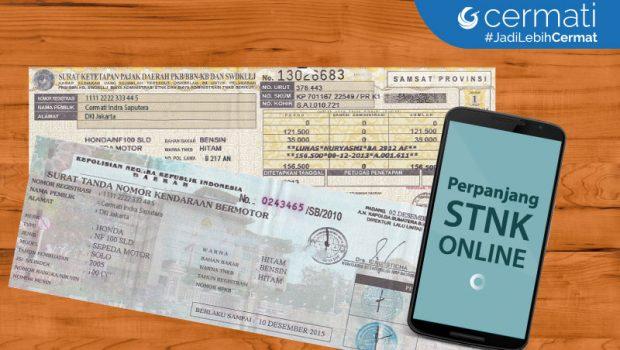 Cara Perpanjang STNK Online di Jakarta