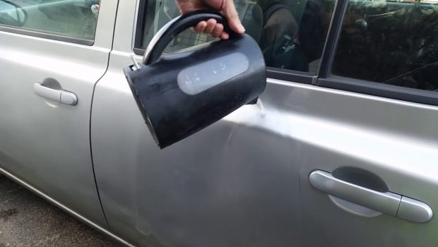 Panduan Cara Memperbaiki Mobil Penyok dengan Air Panas