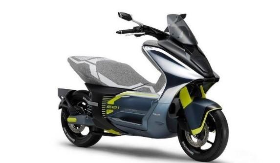 Motor Keluaran Terbaru Dari Pabrikan Yamaha Pakai Listrik