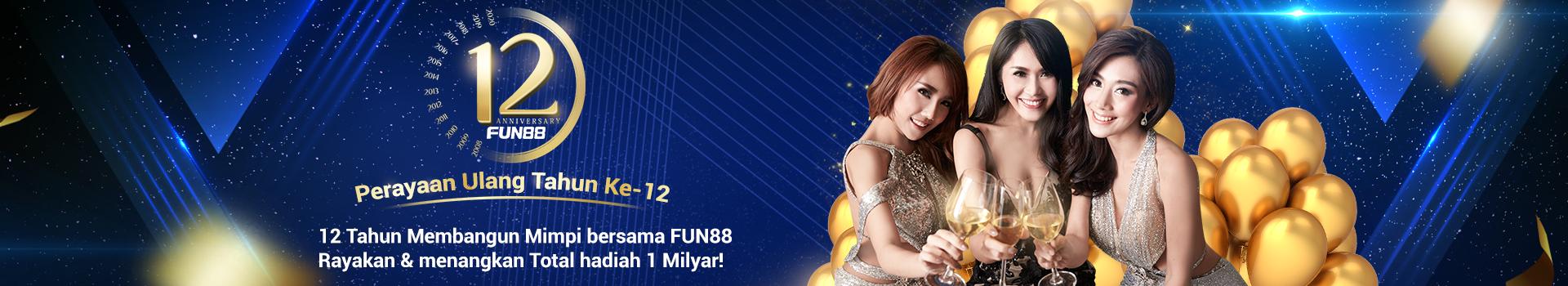 ulang tahun fun88 di indonesia